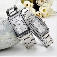 electronic 2014 new Free shipping steel belt fashion casual watch Men watch women watch lovers table Waterproof quartz watch PY