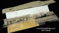 Orangehobby-N07-100-680-1/700 HMS Victorious R38 (1966)