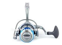 2014 AK3000 Gapless round Left Right Interchangeable 10+1BB 0.18/240 0.2/200 0.25/140 metal vessel raft fishing reels wholesale