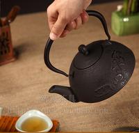 Ginkgo biloba flower style Japan's technology South of the cast iron teapot Boil tea tools 1.2 l