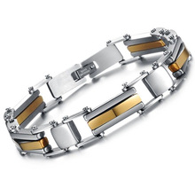 popular men gold bracelet