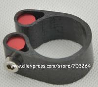 full Carbon Fiber Seatpost Clamp Fit for Tube Diameter: 31.6/30.8//27.2mm