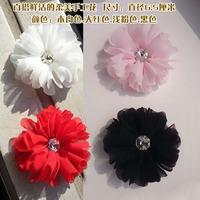 Diamond soft handmade flower diameter 6.5CM DIY wedding dress veil wedding shoes accessories jewelry accessories flower