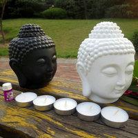 Buddha candle aromatherapy furnace ceramic aromatherapy lamp candle aroma furnace oil lamp essential oil burner home decor