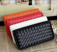 2014 NEW ARRIVAL Free Shipping PU Fashion Women Handbag Braided Wallet Messenger Bag Retro Bag Clutch Bag Casual Bag Purse