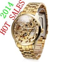Golden Casual Watch Dress Watch 2014 Military men watches Wristwatch Sports watch Automatic