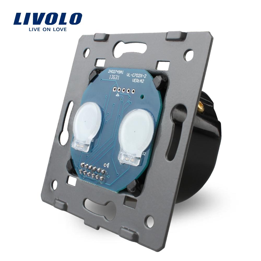 grátis frete, padrão da ue, livolo ac 110 ~ 250v na base do interruptor d