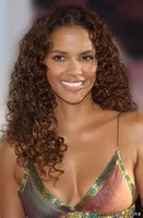 Halle Berry 24 inch curly full lace wig front lace wigs glueless deep curly hair best wig medium brown #4 color