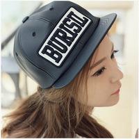 Free Shipping BURISLL baseball cap visor fashion male and female models hot models BURISLL baseball cap flat along