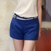 2014 Fashion Summer Women Shorts Plus Size Clothing Casual Shorts Girl Chiffon Shorts Short Pants  Free Shipping