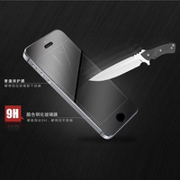 Ultra-thin 0.3mm  Premium Tempered Glass Screen Protector Protective Film For iphone 5 With Retail Package