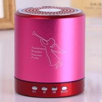 20pcs/lot High quality portable with fm radio usb tf card slot portable speaker