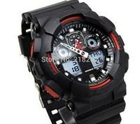 Electronic 2014 New Coming Sports Watches Fashion Men and Women ga 100 Watch,Sports G wristwatch shock style ga100
