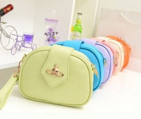 2014 Han edition pretty women's shoulder slope female bag free shipping