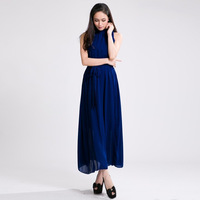 Fashion Elegant oversized swing mopping goddess chiffon dress Free Ship Women Clothing