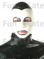 Nature Latex Custom Mask 0.4MM Fetish Rubber Hood Unisex