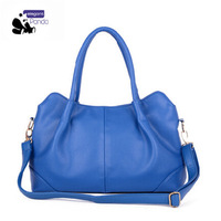 New Arrival 2014 High Quality Women Leather Messenger Bags Fashion candy color bags handbags women famous brands Hot sale