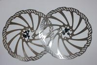 bike brake rotor bicycle rotor bike brake disc  brake rotor 203mm  MTB  parts with bolts YH rotor 1