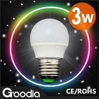 Free shipping&wholesale Led Bulb Lamp E27 220V-240V 3w SMD Led Bulb 10pcs/lot E27 Cold/ Warm White Energy Saving Led Light