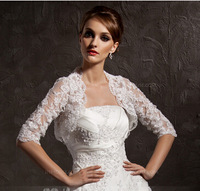 Half-Sleeve Lace Wedding Wrap Wedding Jacket
