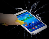 Free Shipping!1000pcs Explosion-Proof Real Tempered Glass Film Screen Protector For Samsung Galaxy S4 SIIII i9500