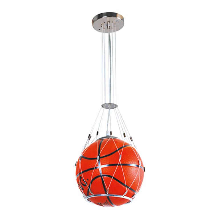 Kids Hanging Lights: Fashion Basketball Hanging Light Children Room Glass