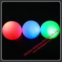 Night Tracer LED Rainbow Flashing Golf Balls