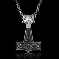 Punk jemmied pendant titanium steel necklace 12 zodiac accessories male accoutering