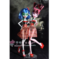 Free Shipping Genuine Monster High Clothing Dress 2-styles Clothes For Original Monster High Dolls