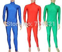 Details about  NEW.Unitard Catsuit Bodysuit Skin-tight Lycra Spandex 5 Size 3 Color