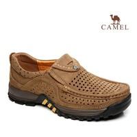 2014  camel men's sports and leisure shoes spring new Korean men's fashion men's men set foot male genuine leather shoes