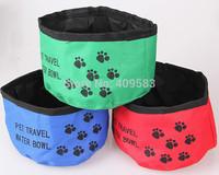 More than 5pcs Wholesale Cat Dog Foldable Bowls BQS02 Pet Supplies Product