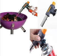 1pcs automatic adjustable high and low flame temperature electronic ignition Flamethrower for BBQ and baking