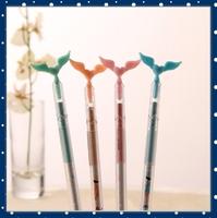 [FORREST SHOP] Kawaii Stationery Cute Angel Wings Novelty Pens For School / Office Supplies 0.38MM Black Gel Pen UP-8109