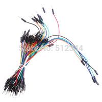 Solderless Flexible Breadboard Jumper Wires M/M 100pcs
