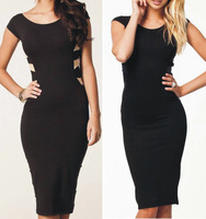 Womens Sexy Evening Formal Cocktail Clubwear Bodycon Bandage Party Pencil Dress
