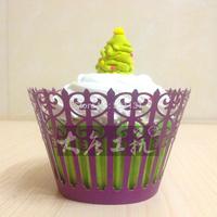 Hot-selling cake paper pearl paper cake rium floral pattern paper 12 bag