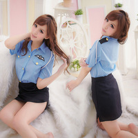 Women's sexy stewardess service set sexy lingerie women costume for ml sexy dress