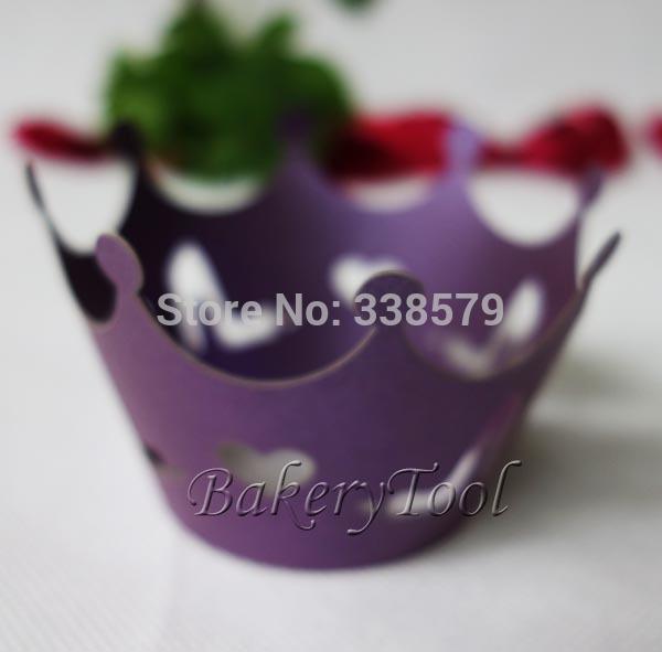 48 pcs rendas envoltórios do cupcake e caixas de coco do cupcake de cozinha ferramentas de cortador de biscoitos para a festa de molde sabão silicone da menina(China (Mainland))