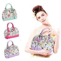 Flower print handbag small vintage women shell bag female girl shoulder bag 2014 mini tote high quality  5 colors B-06