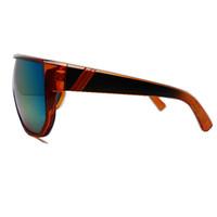 Hot OverSized Cycling Bicycle Bike Sports Sun Glasses UV 400 Transparent Gold Frame Wind-Proof  EyeWears