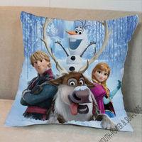 Frozen Movie Fun Queen 4Guys Cartoon Figure Decor Pillow pillowcase Pattern +Pillow (Two Side) 40x40cm STUFFED CUSHION Bed Decor
