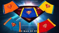 Top sungas meninos swimming circo 2014 new character cartoon spandex boy superman swim wear kid trunks swimwear free shipping