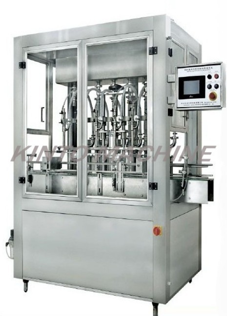 Automatic JIUCE BEVERAGE SHAMPOO CHEMICAL bottle filling machine CHINA SUPPLIER for detergent factory(China (Mainland))