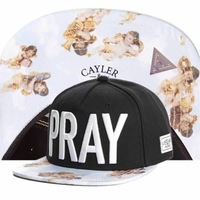 Brand new 2014 Cayler & Sons Snapbacks caps men's designer baseball hats problems black stripe star Snapback hats