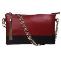 New style women handbag popular fashion women leather handbag clutch bag portable evening bags wax shoulder genuine leather bags