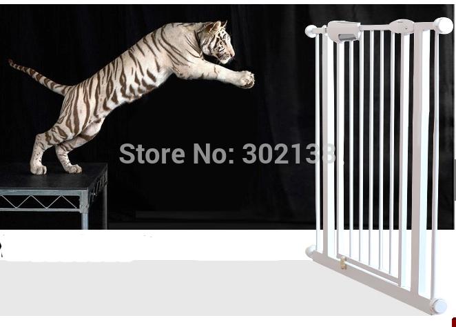 criança segurança do bebê porta soldada malha escada portão cão de estimação automática cerca proteger as crianças(China (Mainland))