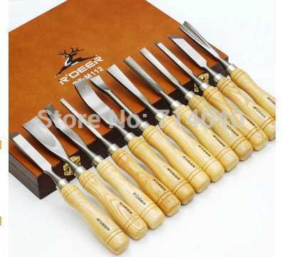 Carving Set: Pochette professionale completa di attrezzi decoro