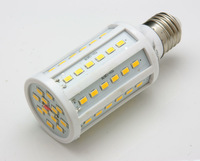 5pcs 15W E27 60 5630 SMD 2400LM 360 degree LED Corn Bulb 110V 120V 130V Warm White white High Luminous Efficiency led Light Lamp