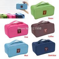 Women Girl Travel Cosmetic Makeup Toiletry Wash Storage Case Underwear Bra Bag COS-003